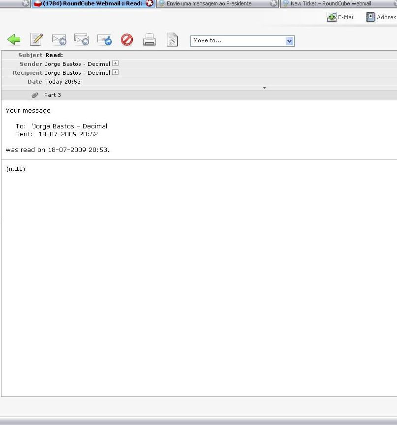 how to add read receipt in thunderbird
